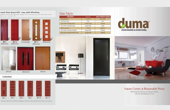 Pintu Duma - Aplikator Surabaya