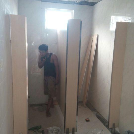 Proyek Toiletcubicle tol Surabaya Mojokerto