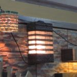 Aneka Cermin Lampu Hias Batu Beling