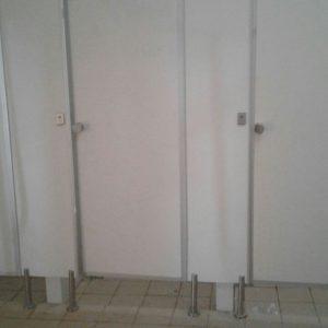 Proses Pemasangan Cubicle Toilet PVC Board BLKI