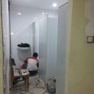 Toilet Cubicle Blockboard SMA 5 Surabaya