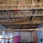 Pemasangan Plafon Ke 2 di Restaurant Atlantic Land Kenjeran Park