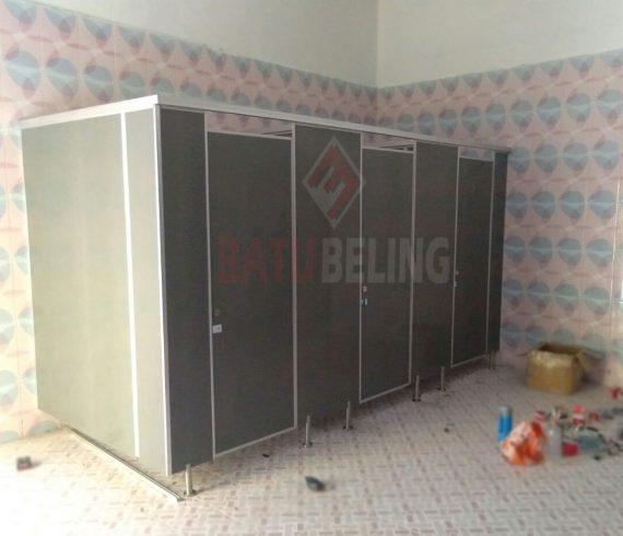 9 Unit Cubicle Toilet PVC Board di Kenjeran Park Surabaya
